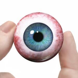 Baby Blue Glass Doll Eyes Realistic Eyeballs 20mm