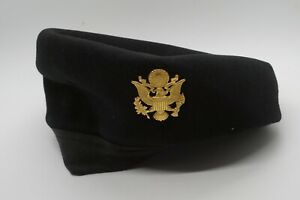Korean - Vietnam War WAC Women's Army Corps Beret Hat With Hat Badge SIZE 21