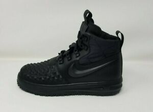 Details about New Nike Youth Lunar Force 1 Duckboot Shoes (922807 001) BlackAnthraciteBlack