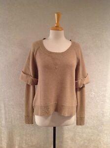 Jamison Women's Camel Cashmere Sweater Size S | eBay