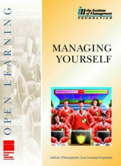 IMOLP Managing Yourself (Institute of Management Open Learning Programme),THE I