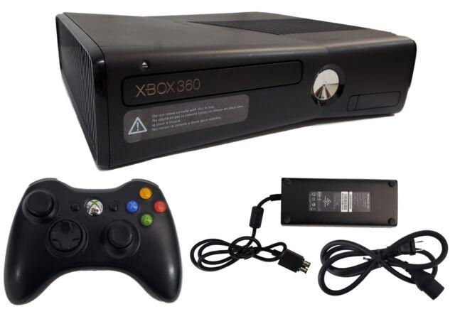 Microsoft Xbox 360 S Launch Edition 250GB Black Console ...