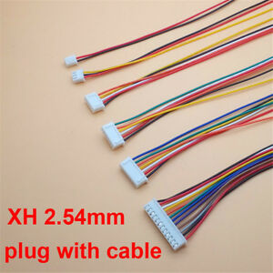 JST XH2.5 4 3 9Pin Wire Right Angle connector 2.54mm Board Connector With Socket