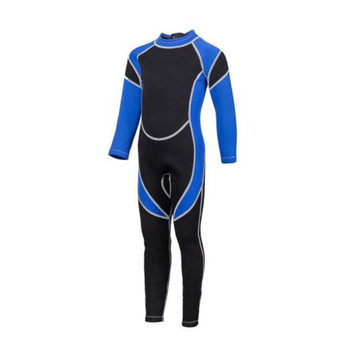 Toddler Kids Swimwear Swimming Suit Costume Full Length Wetsuit Surfing Diving