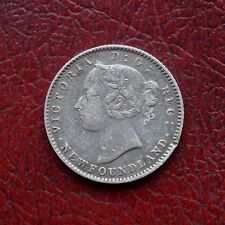 Newfoundland 1888 silver 10 cents