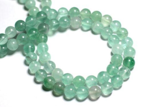 Perles de Pierre 10pc 8741140000674 Fluorite verte Boules 6mm