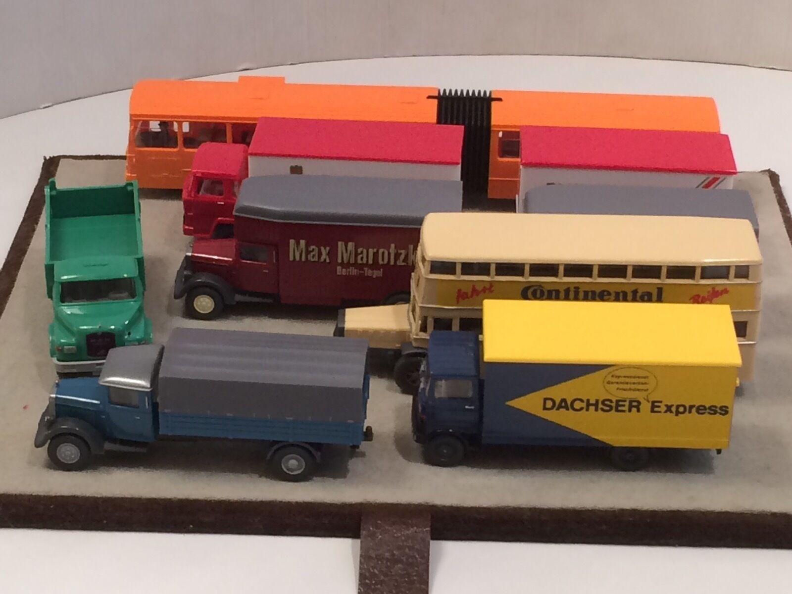Wiking modèles camion's bus
