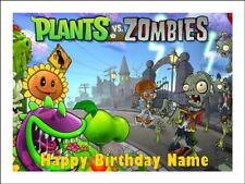 Plants Vs Zombies Happy Birthday Party Decoration Supplies Dangler