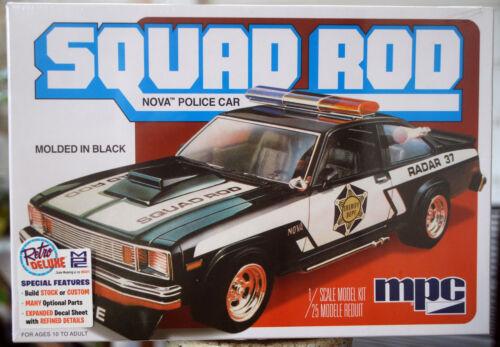1979 Chevrolet Nova Police Car Squad Rod 2´n1 1:25 MPC 851 wieder neu 2016