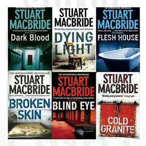 Logan McRae (6) - Dark Blood, MacBride, Stuart, Used; Good Book