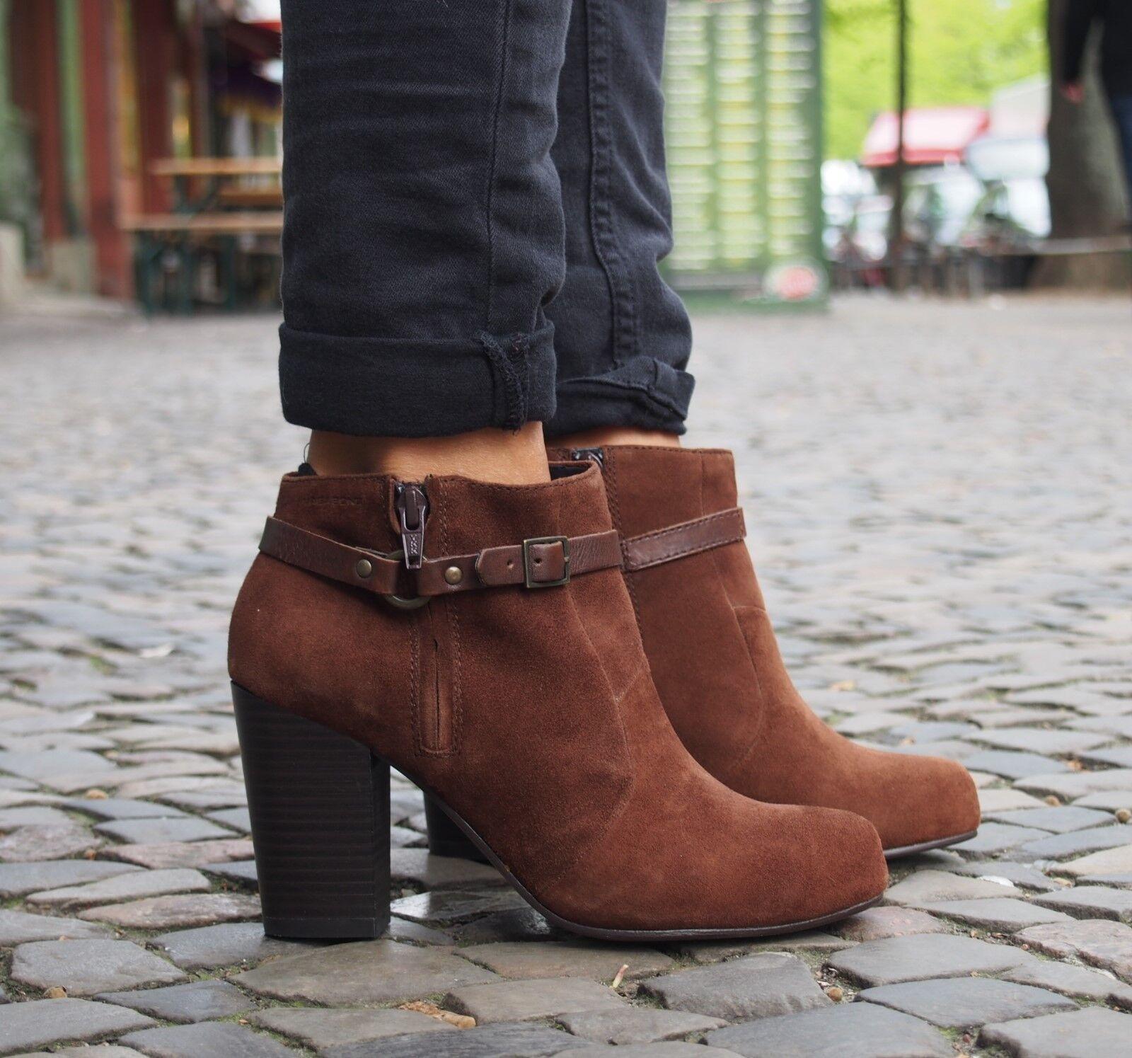 Vagabond Damenschuhe Pumps Ankle Stiefel KIMBERLEY 3618-142 braun Echtleder NEU