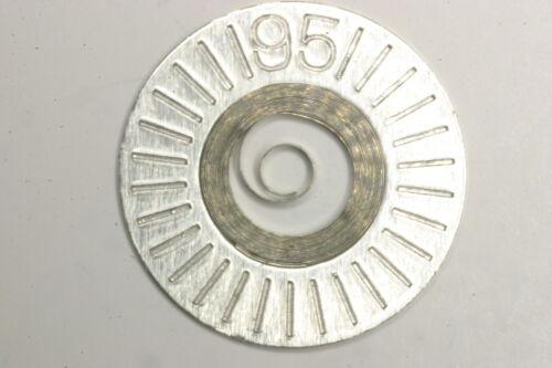 8144 8244 Mainspring Ressort Muelle Zugfeder Molla TISSOT 781 782 FHF F.H.F