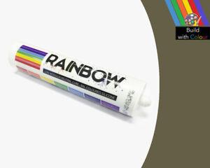 OLIVA-COLORE-GRIGIO-SILICON-SIGILLANTE-RAINBOW-310ML-RAL-7002-INTERNO-amp-uso