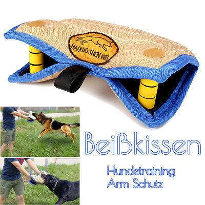 Hundetraining Beißkissen Arm Schutz Hunde Training Hundesport Spielzeug Jute SchöN Und Charmant