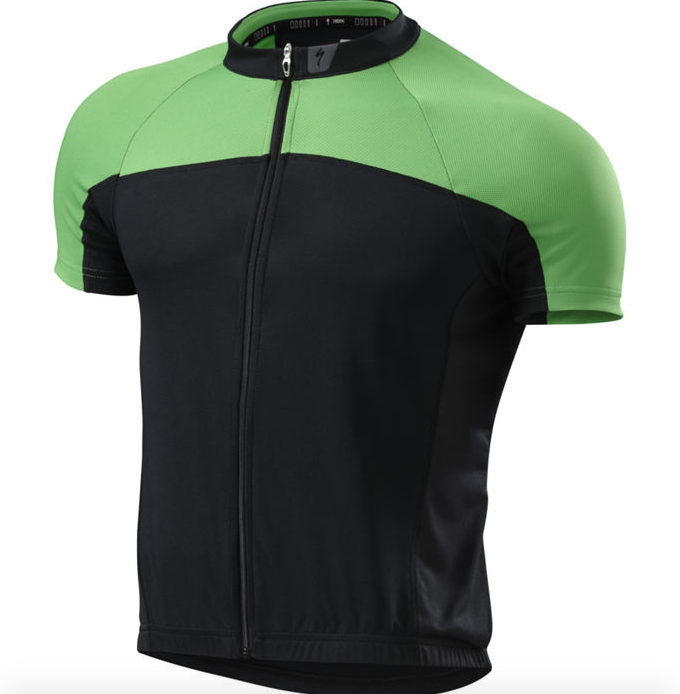 Specialized Ciclismo Hombre Jersey Rbx Deporte Jersey Hombre Ss Negro / Moto Verde 10ebdb