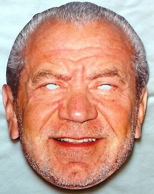 Great for Parties 1st Class Post Alan Sugar Apprentice Celebrity Face Mask