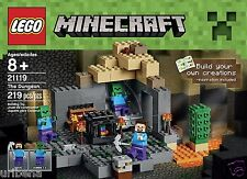 LEGO Minecraft 21119 the Dungeon Building Kit Boys & Girls 8-15 Zombie Spawning