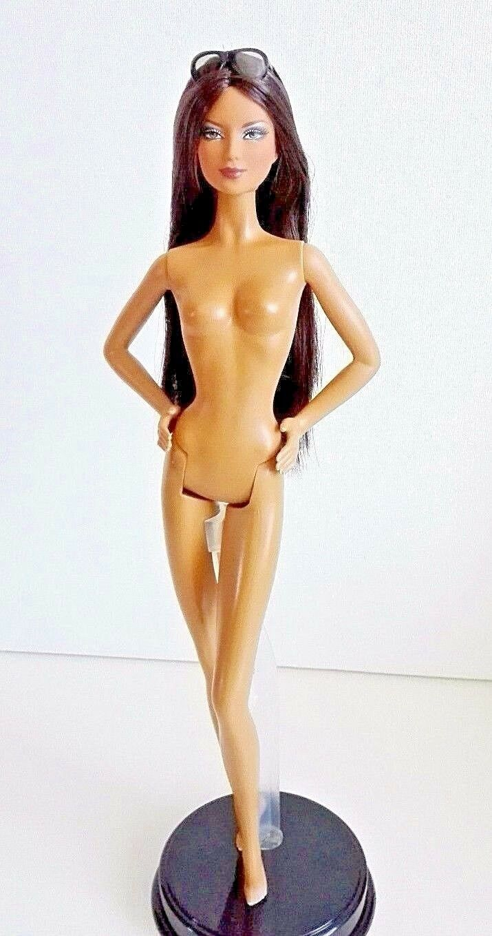 BARBIE MONTECARLO NUDA NUDE NAKED for OOAK - new muse doll collection Mattel