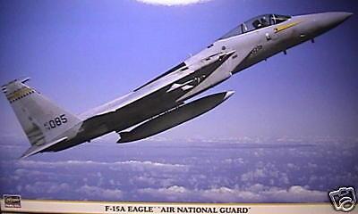 1  48 MDC F -15 A EAGLE ANG -märkningar av Hasegawa