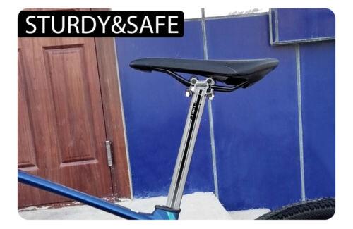 Road Bike Seatpost MTB Dropper Seat Post 27.2//30.9//31.6*350mm Bicycle Seat Tube