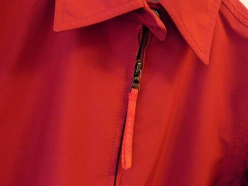 Donna Leggero Prada Gore Giacca Rosso Tg tex 40 Impermeabile Spolverino 5ww1qfO