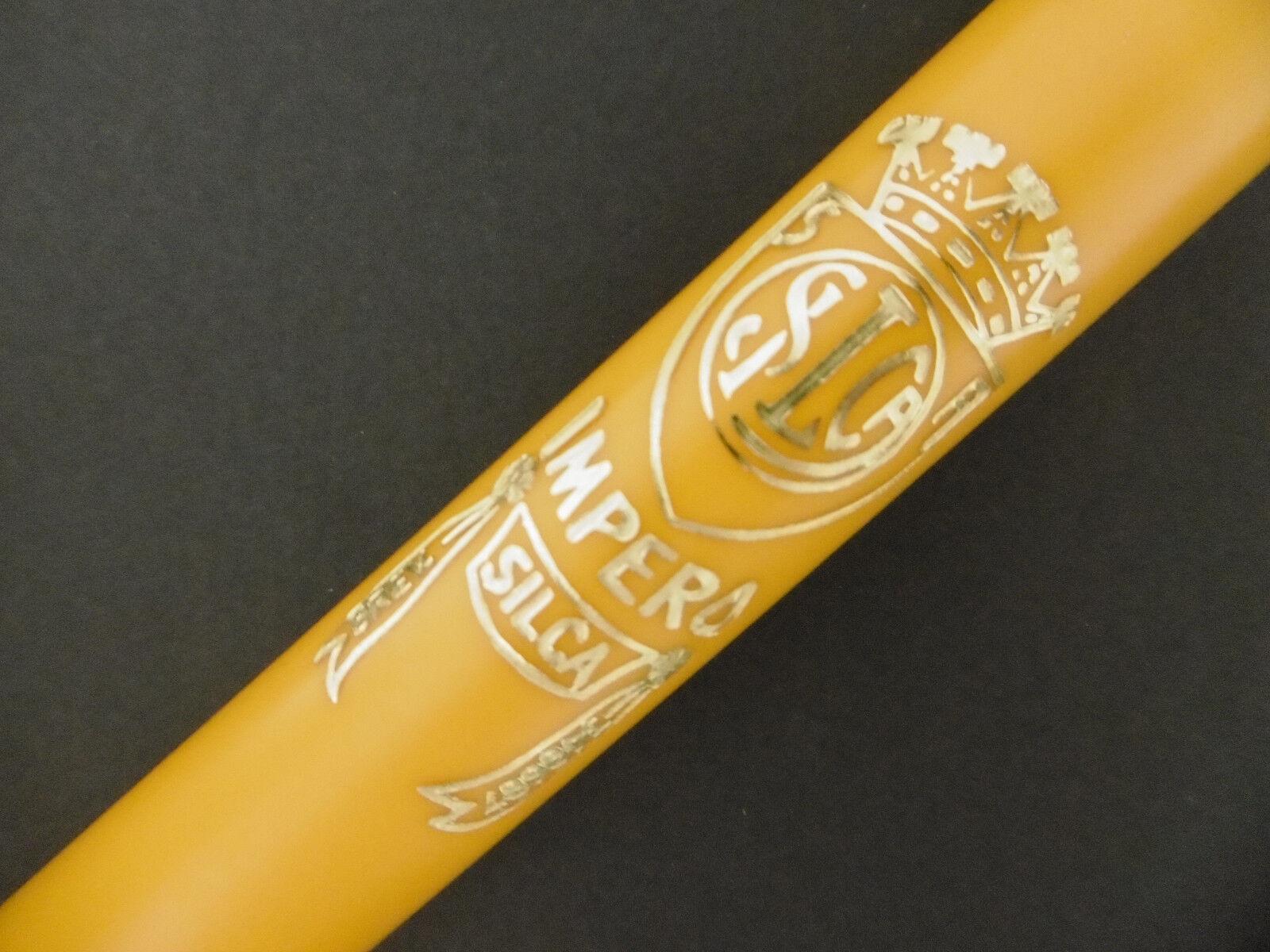 Pump Silca Impero Brevettato road bicycle bike yellow new presta dunlop 590mm