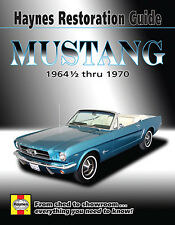 Repair Manual Haynes 11500 64-70 Ford Mustang RESTORATION GUIDE BOOK
