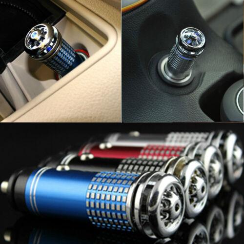 Mini Car Fresh Air Ionic Purifier Oxygen Bar Ozone Ionizer Cleaner Purify Air