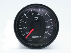 45mm-Boost-Gauge-PSI-Scale-Miniature-Turbo-Gauges-Meter-Electrical-White-LED