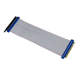 1-PCI-E-PCI-Express-16X-Riser-Card-Flexible-Ribbon-Extender-Extension-Cable-Cord
