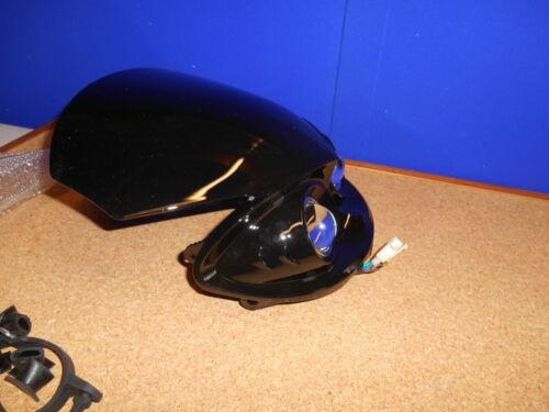 Alien Style Black Motorcycle Streetfighter Motocross MX Headlight BC37452 T