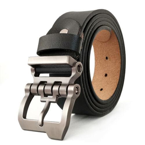 """Luxury Designer Belts for Jeans Genuine Leather Mens Belt Big Tall Size 30/""""-63/"""""""