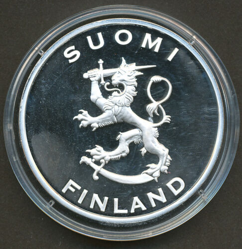 """Finland /""""Silver Treasure Collection/"""" Coin Proof Indepencence 1917"""