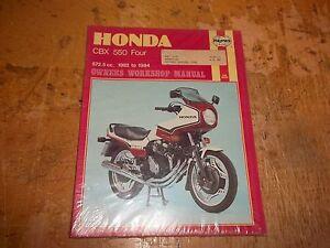 new haynes honda cbx550 owners workshop manual cbx 550 1982 1984 940 rh ebay com service manual honda cbx 550 f service manual honda cbx 550 f