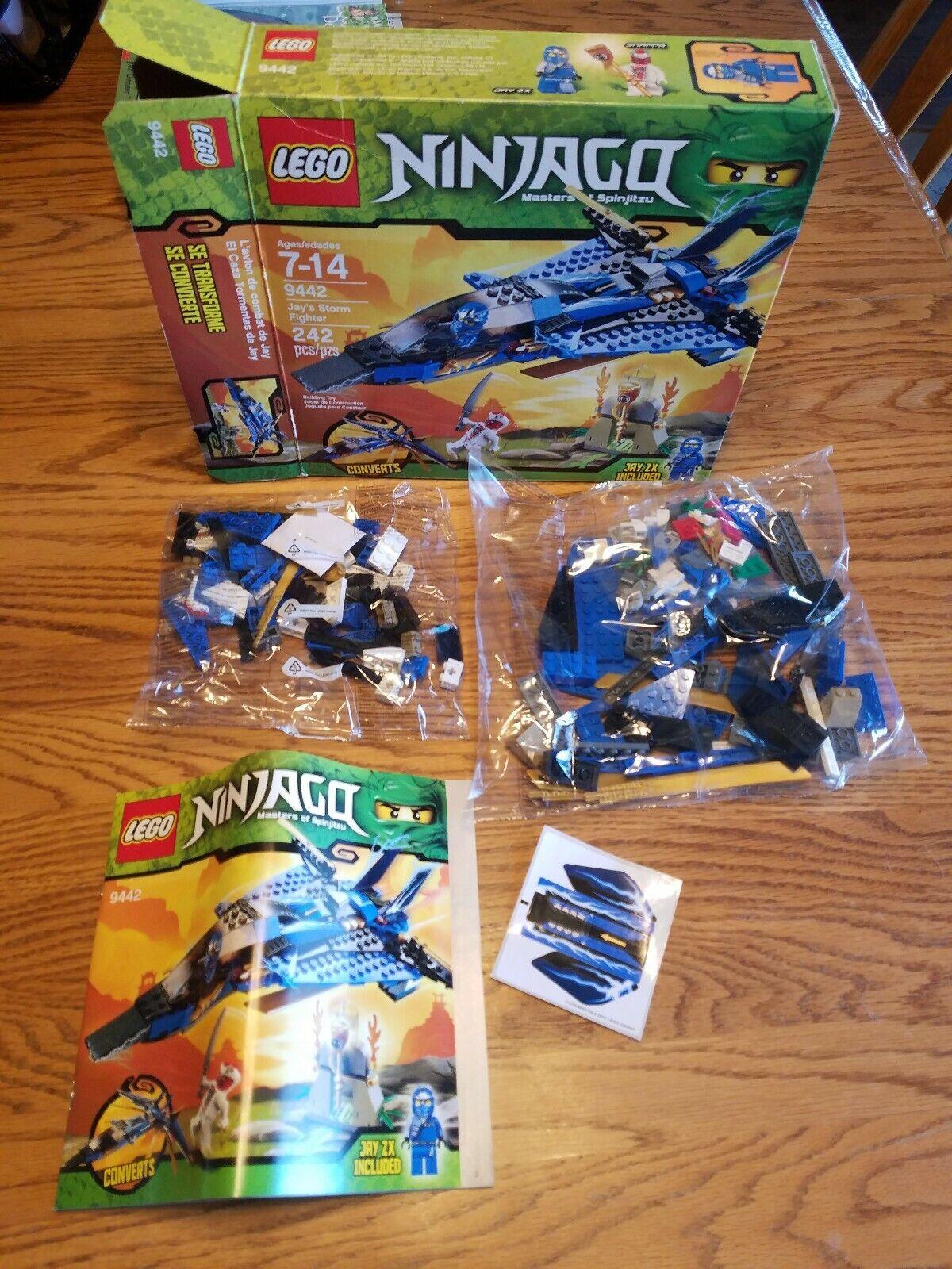 Lego Ninjago Jay's Storm Fighter (9442), new in box