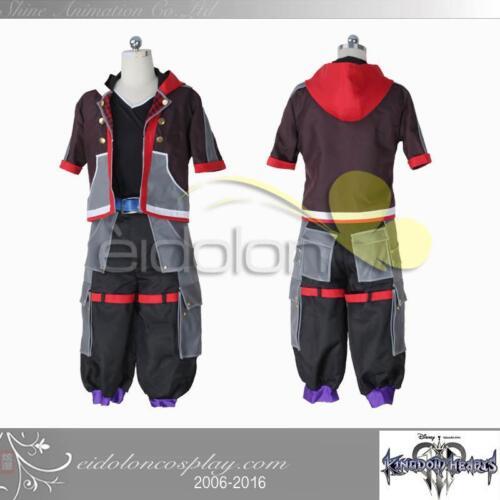 EE0050AG Kingdom Hearts III Sora Cosplay Costume Size Customized