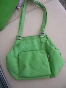 Schöne Damen Tasche grün ca39 cmx 30 cm Umhängtasche