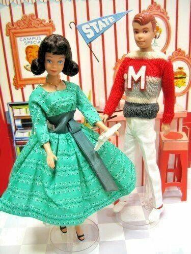 Barbie & Ken Campus Sweet Shop (NRFB) 45th Anniv. set