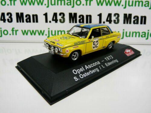 RDK13M 1//43 IXO Atlas Aufbau Carlo Scandinavian Opel Ascona 1973 Osterberg