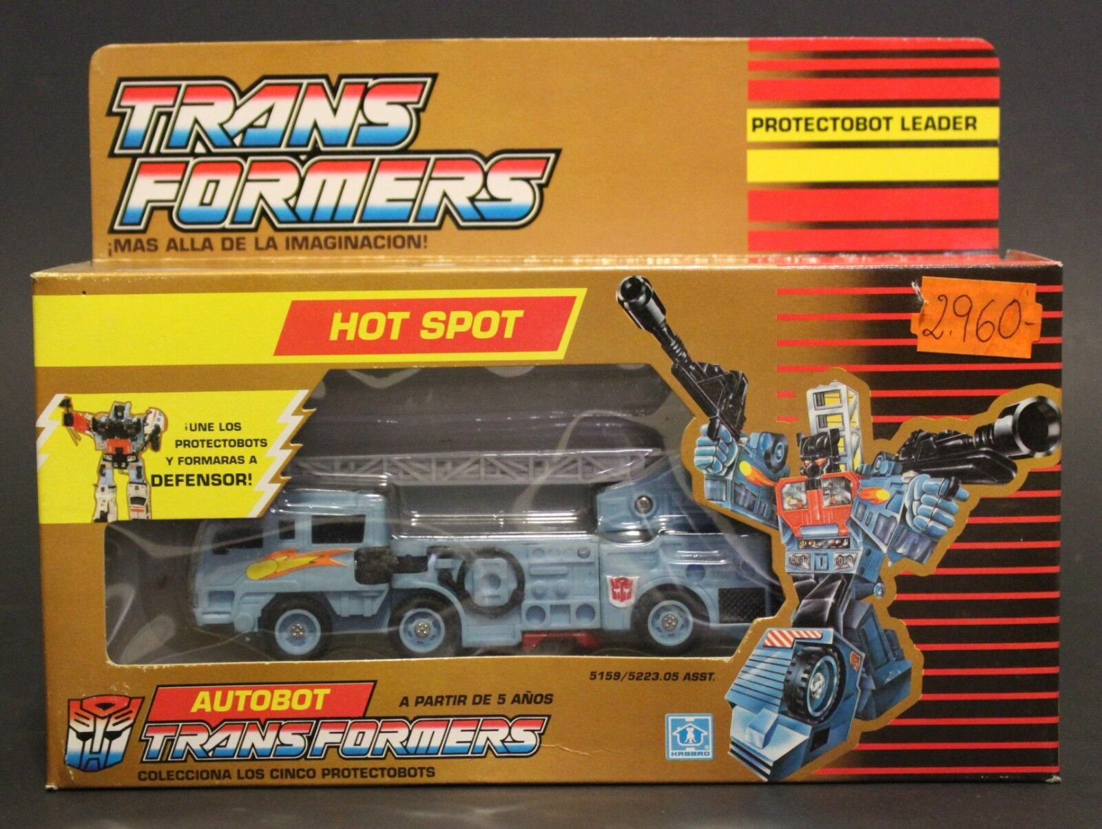 1990 g1 transformers protectobot hot spot in euro classic versiegelt Goldene box vhtf