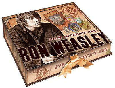 Harry Potter - Ron Weasleys 7 Piece Ribbon Tied Artefact Box - New & Sealed