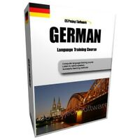 LEARN TO SPEAK GERMAN LANGUAGE TRAINING COURSE PC DVD NEW