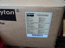 DAYTON 5GD55  MOTOR 1/3 HP, 3460 rpm, 56C , 115/208/230 V , 1 PH , 1 SPEED , G P