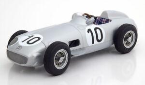 I Scale Mercedes Benz W196 Gp Grande-bretagne 1955 Champion Du Monde Fangio #