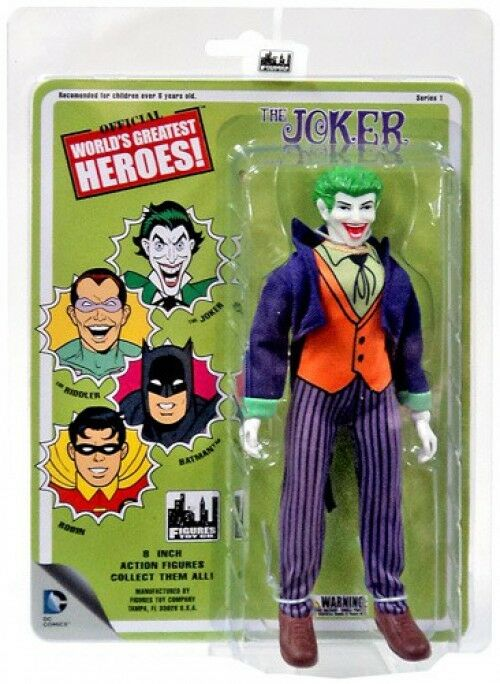 Batuomo World's Greatest Heroes Series 1 The Joker azione cifra