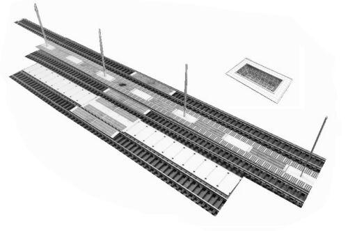 120 A/&s projet 556-équipement du port de voie typ:01 1 Kit