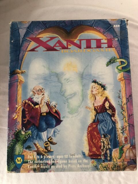 Xanth Board Game Based On Books By Piers Anthony