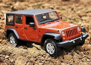 Image Is Loading Maisto 1 24 2015 JEEP Wrangler Unlimited Diecast