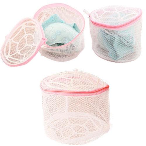 Zipper Laundry Washing Machine Bra Underwear Clothes Mesh Wash Case Bag Lingerie