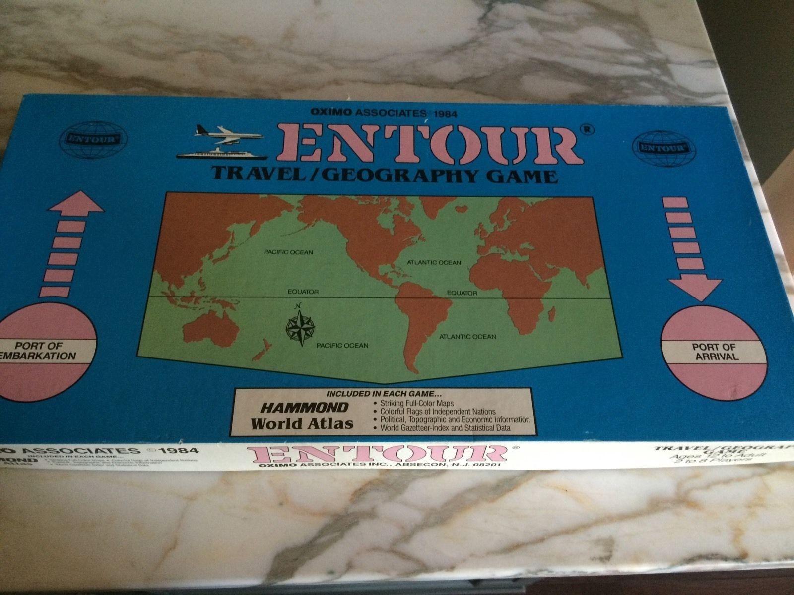 solo para ti Geografía de viaje al juego juego juego 1984 Oximo Associates  entrega gratis
